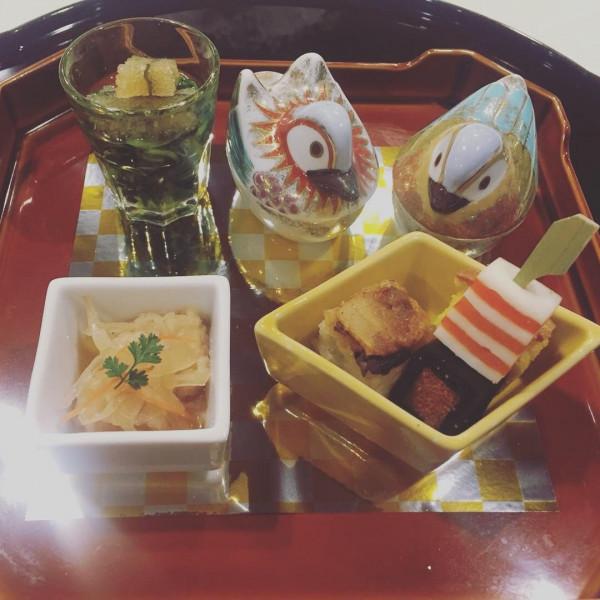 和食にしました