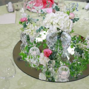 テーブル装花|510061さんのANAクラウンプラザホテル岡山の写真(664362)