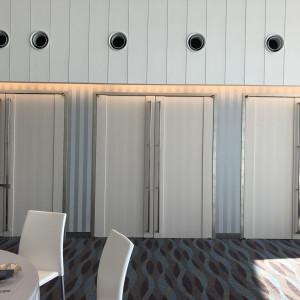 挙式会場と披露宴会場をつなぐ扉|510447さんのシーサイド リビエラの写真(667028)