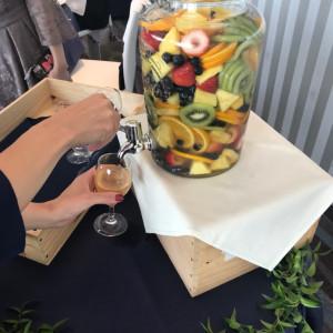 果実酒ラウンド、フルーツいっぱい用意してもらえました!|510447さんのシーサイド リビエラの写真(667045)