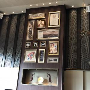 和風な、レトロな趣きの装飾です。|510507さんのTHE ORIENTAL SUITE(掛川グランドホテル)の写真(670073)