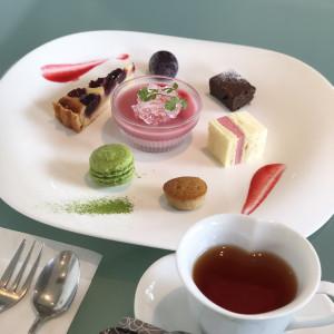 お洒落なデザートもいただき、どれもとても美味しかったです。|510507さんのTHE ORIENTAL SUITE(掛川グランドホテル)の写真(670077)