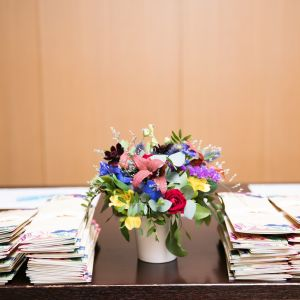 受付装花|510692さんのXEX ATAGO GREEN HILLS(ゼックス 愛宕 グリーンヒルズ)の写真(736763)