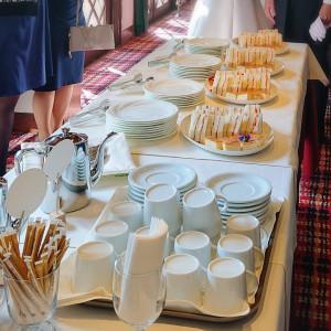 披露宴は出席してないのですが軽食が用意されていました 510751さんの北野異人館 旧クルペ邸の写真(924319)