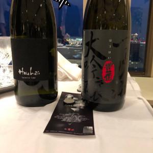 持ち込み料がかかりますが、用意したお酒はゲストに好評でした!|511696さんのPENTHOUSE THE TOKYO by SKYHALLの写真(674108)