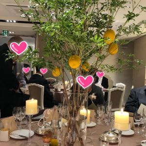 レモンの樹の下にいるようなイメージで作ってもらいました!|511696さんのPENTHOUSE THE TOKYO by SKYHALLの写真(674104)