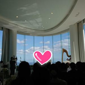 カーテンが開くと綺麗な景色が広がります|511760さんの杉乃井ホテル&リゾートの写真(674480)