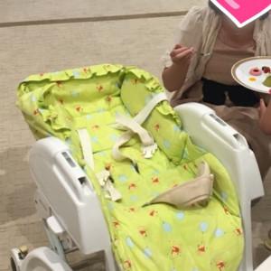 赤ちゃんには赤ちゃん用の席を設けてくれます|511760さんの杉乃井ホテル&リゾートの写真(674533)