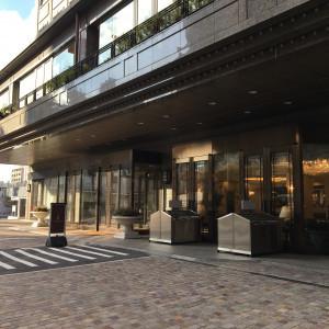ホテルの入り口|512005さんのホテルベルクラシック東京の写真(675391)