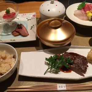 和洋折衷のコースの試食。これは忘れなれい程美味しい…|512005さんのホテルベルクラシック東京の写真(675395)