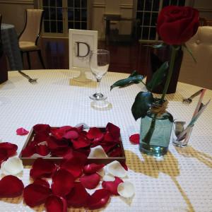 試食時のテーブルコーディネート|512201さんのSt. GRAVISS(セントグラビス)の写真(685365)