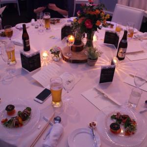 披露宴テーブル|512862さんのベルフォーレ松山の写真(677960)