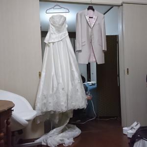 メイクは提携の美容室で行いました。|513618さんの8G Horie RiverTerrace Weddingの写真(682031)