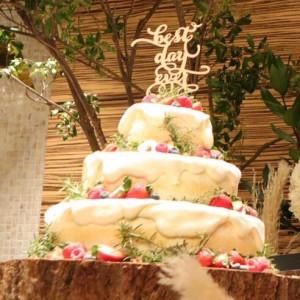 オリジナルのウエディングケーキ。思ったようにして下さいました|514009さんのFRIGERIO(フリジェリオ)の写真(684068)