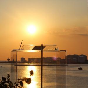 夕日がとても綺麗でした。|515018さんのAMANDAN SAIL~アマンダンセイル~の写真(687019)