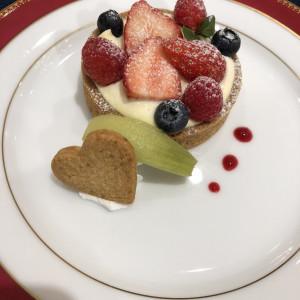 試食会のデザート 515140さんのフラールガーデン春日部の写真(688585)