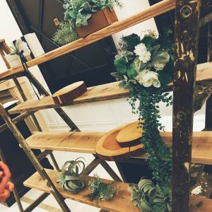 ここにウエルカムパーティの食事少し置かれました。|515764さんのアーヴェリール迎賓館(名古屋)の写真(688765)