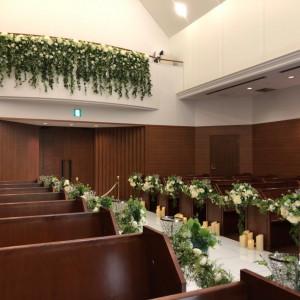 上の2階のところから聖歌隊が歌います|515946さんのホテルベルクラシック東京の写真(696684)