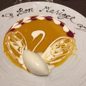 下見の時に出してくださいました 515952さんのフランス料理店 ラ・ロシェル福岡の写真(688448)