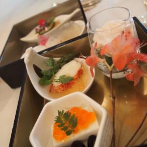 最初にでてくる料理です! 516471さんの横浜迎賓館の写真(689917)