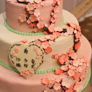 希望通りのオリジナルケーキ♪|517150さんのハワイアンズ ホテル ウエディングの写真(729081)