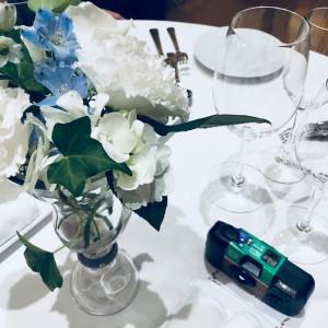 見送り時にテーブル装花の身にブーケがもらえる 518606さんのレストランMINAMIの写真(699100)