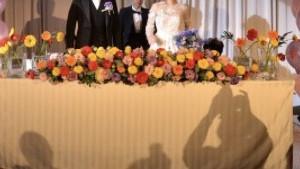友人にいただいたバルーンも飾っていただき、より華やかに!|521384さんのThe New Hotel Kumamoto(ニューオータニホテルズ ザ・ニューホテル熊本)の写真(712586)