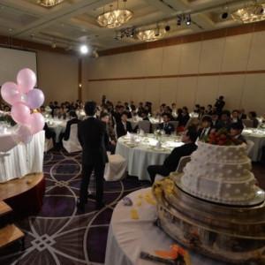 100人以上入る会場、鳳凰で行いました。|521384さんのThe New Hotel Kumamoto(ニューオータニホテルズ ザ・ニューホテル熊本)の写真(712587)