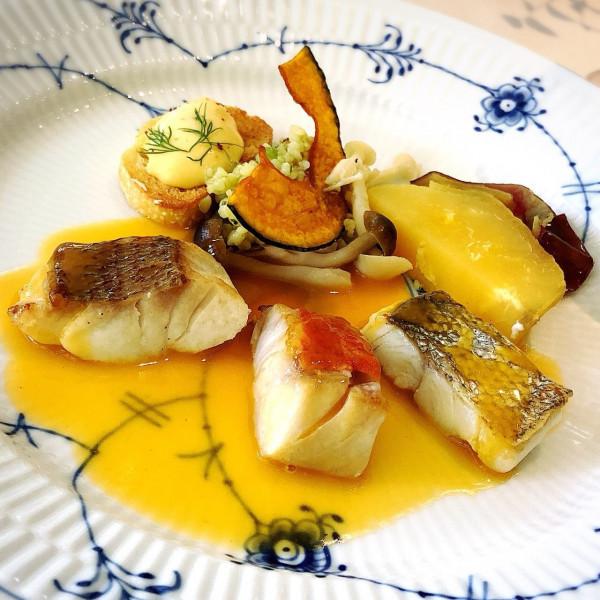 お魚の料理です