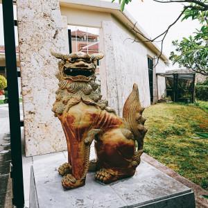 リッツの門にあるシーサーです。|522288さんのザ・リッツ・カールトン沖縄の写真(713966)