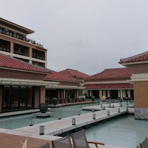 テラスからの眺めです。 ここを歩いて入場します。|522288さんのザ・リッツ・カールトン沖縄の写真(713960)
