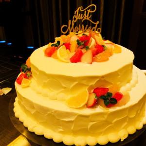 2段ケーキは初回見積もりから追加料金がかかります。 522685さんのハカタギ グランヒューリの写真(716149)