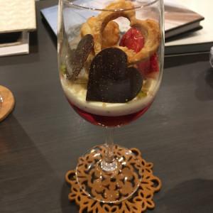 フェア試食デザート|522741さんのシャルマンシーナ 東京(CHARMANT SCENA TOKYO)の写真(715707)