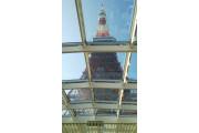 東京タワーの真下です