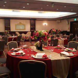 広々とした会場|523005さんのホテル メルパルク東京の写真(719846)