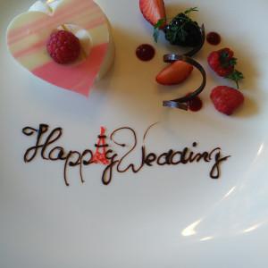 デザート|523005さんのホテル メルパルク東京の写真(719853)
