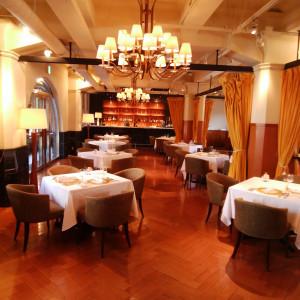 レストラン。少人数の場合ここが披露宴会場に。|523476さんのASHIYA MONOLITH 旧逓信省芦屋別館 ~芦屋モノリス~の写真(721684)