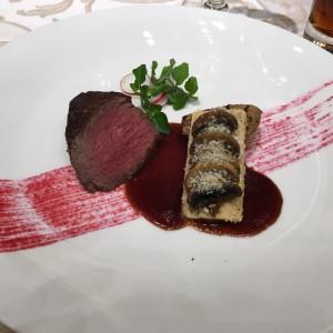 メインディッシュの肉料理 524114さんのANAクラウンプラザホテル大阪の写真(726032)