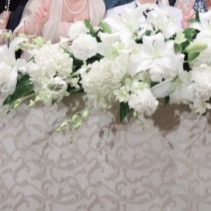 高砂正面装花 524114さんのANAクラウンプラザホテル大阪の写真(726043)