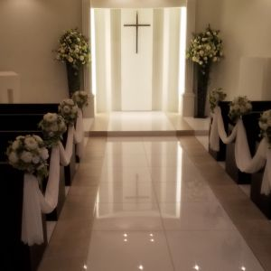 フラワーシャワーも可能かと思います|525501さんの小さな結婚式 浦和店の写真(732684)