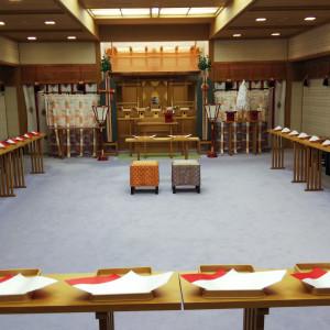 加藤神社さん由来の神殿|525920さんのKKRホテル熊本の写真(778182)