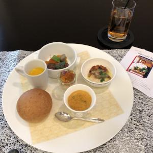 有名シェフのワンプレート料理|526030さんの赤坂ル・アンジェ教会の写真(737282)