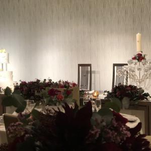 新郎新婦の席|526030さんのヒルトン福岡シーホークの写真(738382)