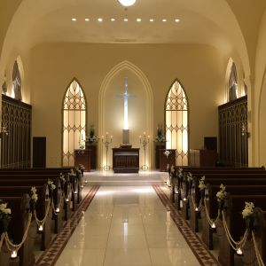 温かみある白を基調とした雰囲気|526030さんの赤坂ル・アンジェ教会の写真(737269)