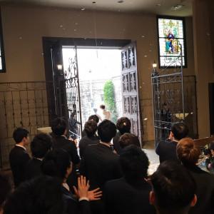 挙式|526077さんのマリエール岡崎(セント・ソレイエ大聖堂)の写真(736390)