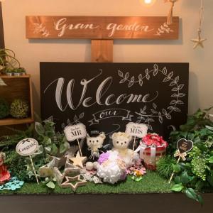 ほっこりできるアイテム|526173さんのGRANDARCHE WEDDING HILLSの写真(746396)