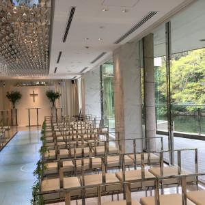 緑が映える綺麗なチャペル|526951さんの東京マリオットホテルの写真(741146)