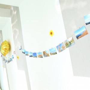 思い出の写真を廊下に飾った 527303さんのララシャンスベルアミー 盛岡の写真(745951)