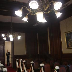 チャペル、出入り口方向の様子|527747さんの「高輪 貴賓館」 グランドプリンスホテル高輪の写真(746359)