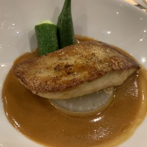 試食会で食べたフォアグラ料理です。披露宴でもだしました。|527820さんの横浜迎賓館の写真(746753)